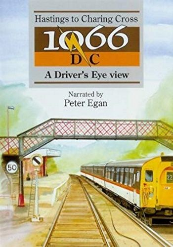 Image showing the cover of the 1066 DC: Hastings to London Charing Cross driver's eye view film