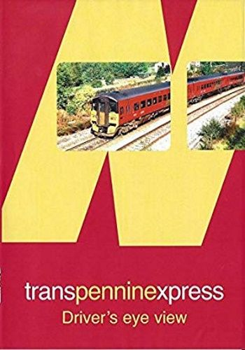 Image showing the cover of the Transpennine Express - Manchester Piccadilly to York driver's eye view film