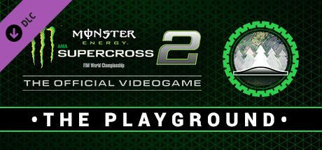 Clickable image taking you to the Steam store page for the Playground DLC for Monster Energy Supercross - The Official Videogame 2
