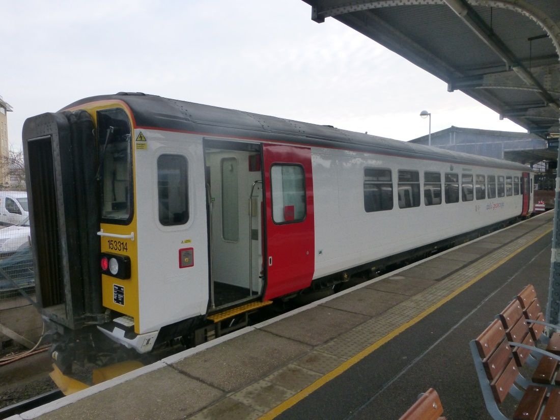 Image showing Greater Anglia Class 153