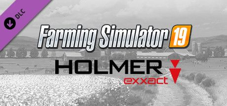 Clickable image taking you to the Steam store page for the HOLMER Terra Variant DLC for Farming Simulator 19