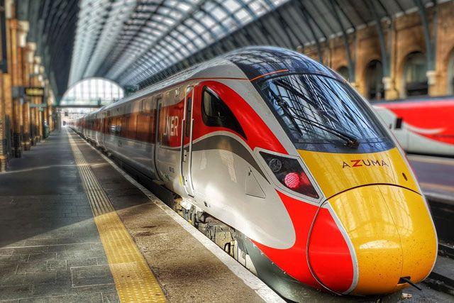 Image showing LNER Azuma train at London Kings Cross