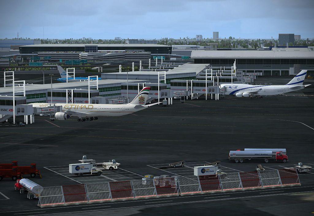Flight Simulator X - New York JFK Airport Scenery V2 Add-On