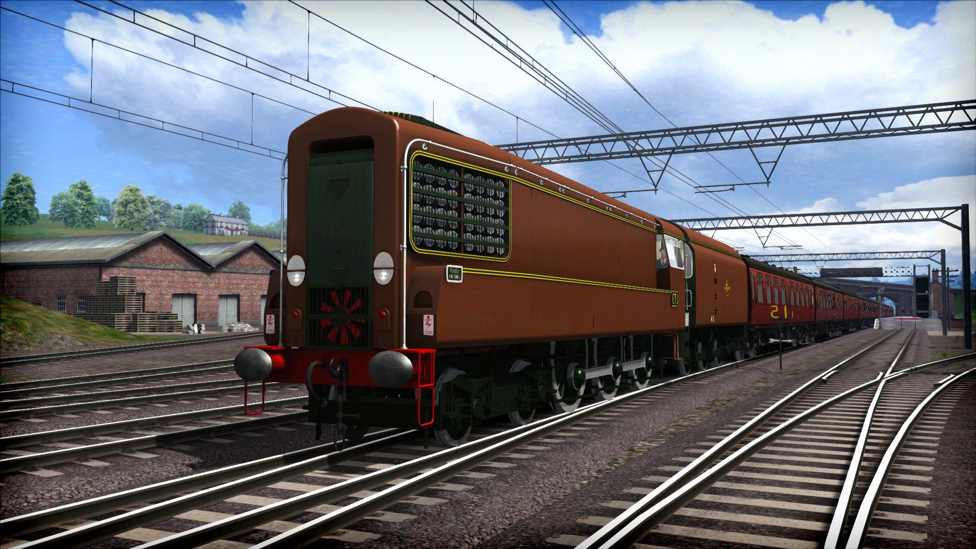 Train Simulator BR GT3 Gas Turbine