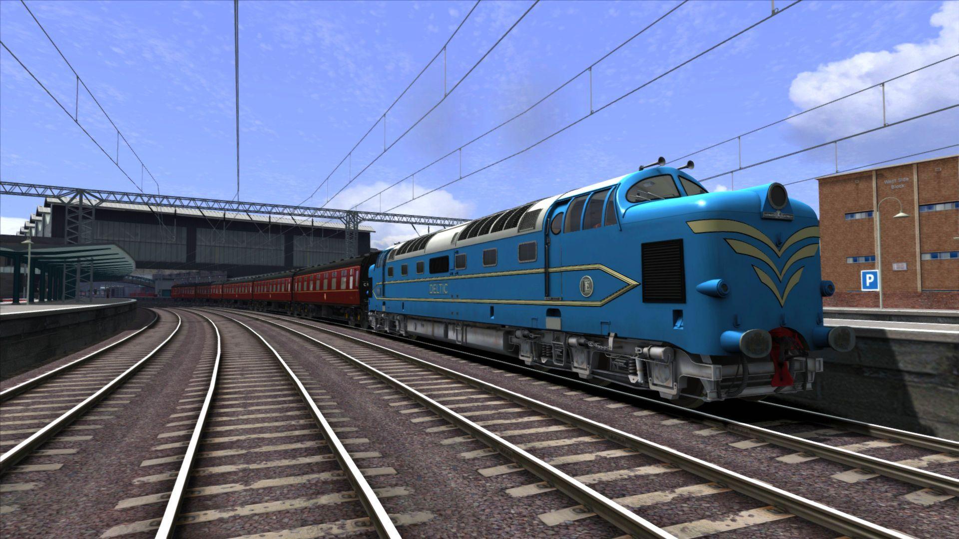 Train Simulator Deltic Prototype