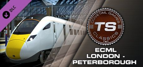 Clickable image taking you to the DPSimulation page for the East Coast Main Line London-Peterborough Route Add-On DLC for Train Simulator