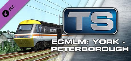 Clickable image taking you to the DPSimulation page for the East Coast Main Line Modern: York - Peterborough Route Add-On DLC for Train Simulator