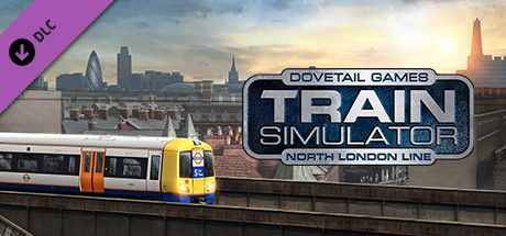 Clickable image taking you to the DPSimulation page for the North London Line Route Add-On DLC for Train Simulator