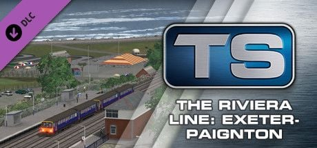 Clickable image taking you to the DPSimulation page for the Riviera Line: Exeter-Paignton Route Add-On DLC for Train Simulator