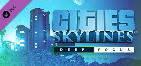 Clickable image taking you to the Indiegala store page for the Deep Focus Radio DLC for Cities: Skylines