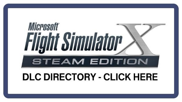 Clickable image taking you to the Microsoft Flight Simulator X DLC directory at DPSimulation