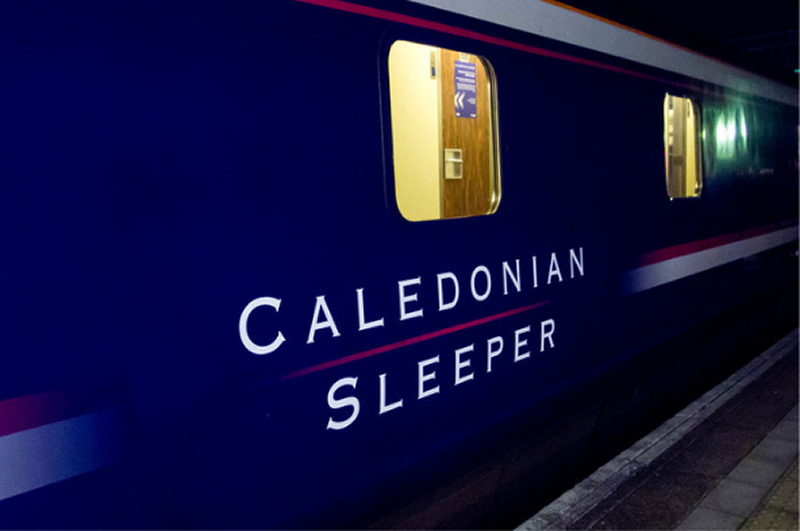 Image showing Caledonian Sleeper rolling stock