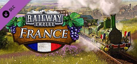 Clickable image taking you to the Steam store page for the France DLC for Railway Empire