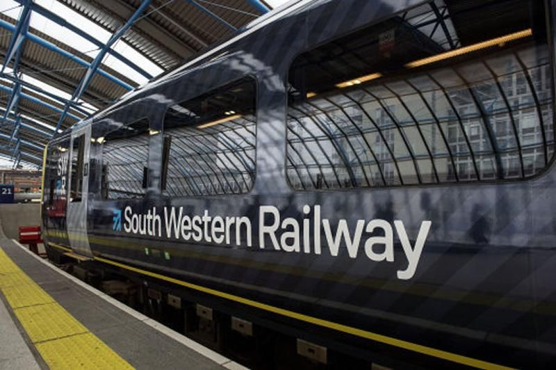 Image showing South Western Railway train