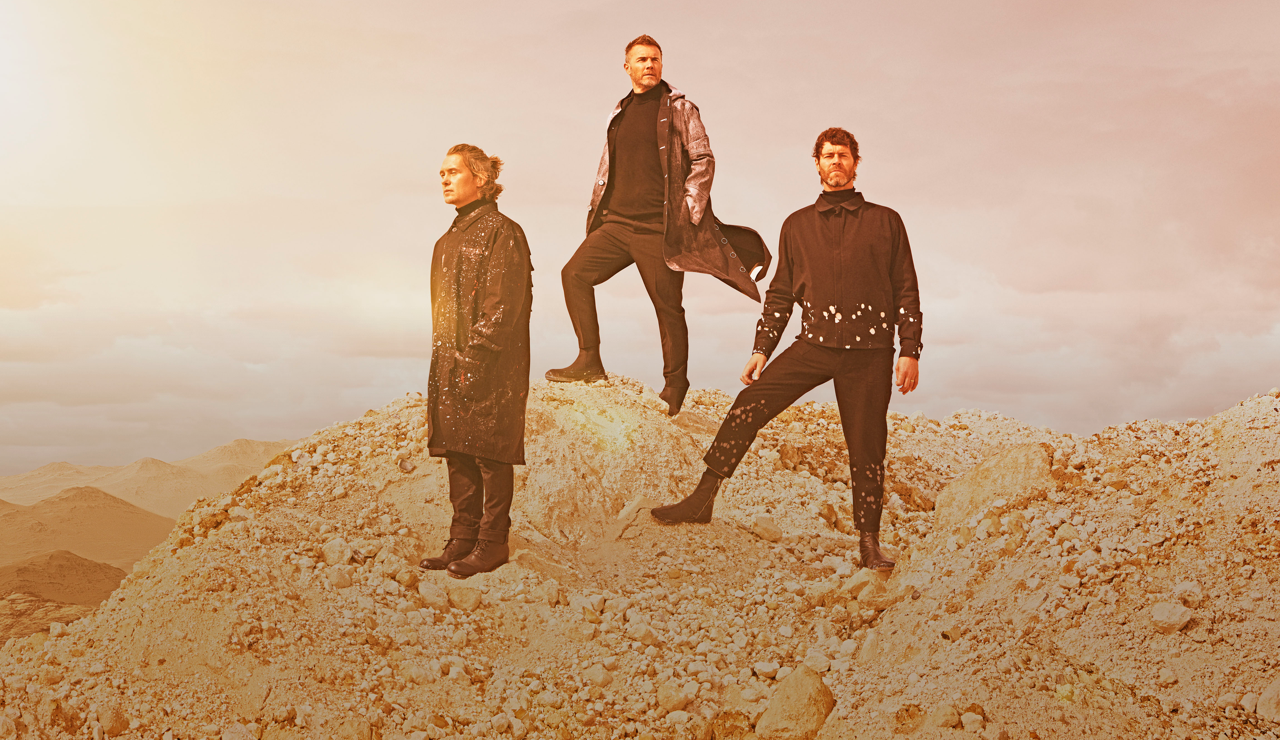 Image showing the three members of Take That