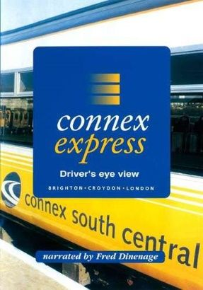 Image showing the front cover of the Connex Express: Brighton to London Victoria Driver's Eye View video
