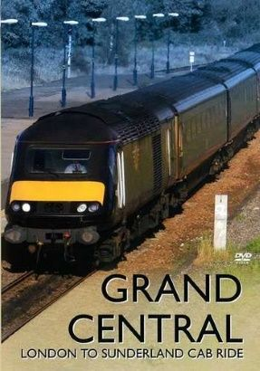 Image showing the front cover of the Grand Central: London to Sunderland Driver's Eye View video