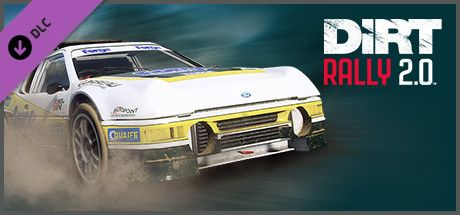 Clickable image taking you to the Steam store page for the Ford RS200 Evolution DLC for Dirt Rally 2.0