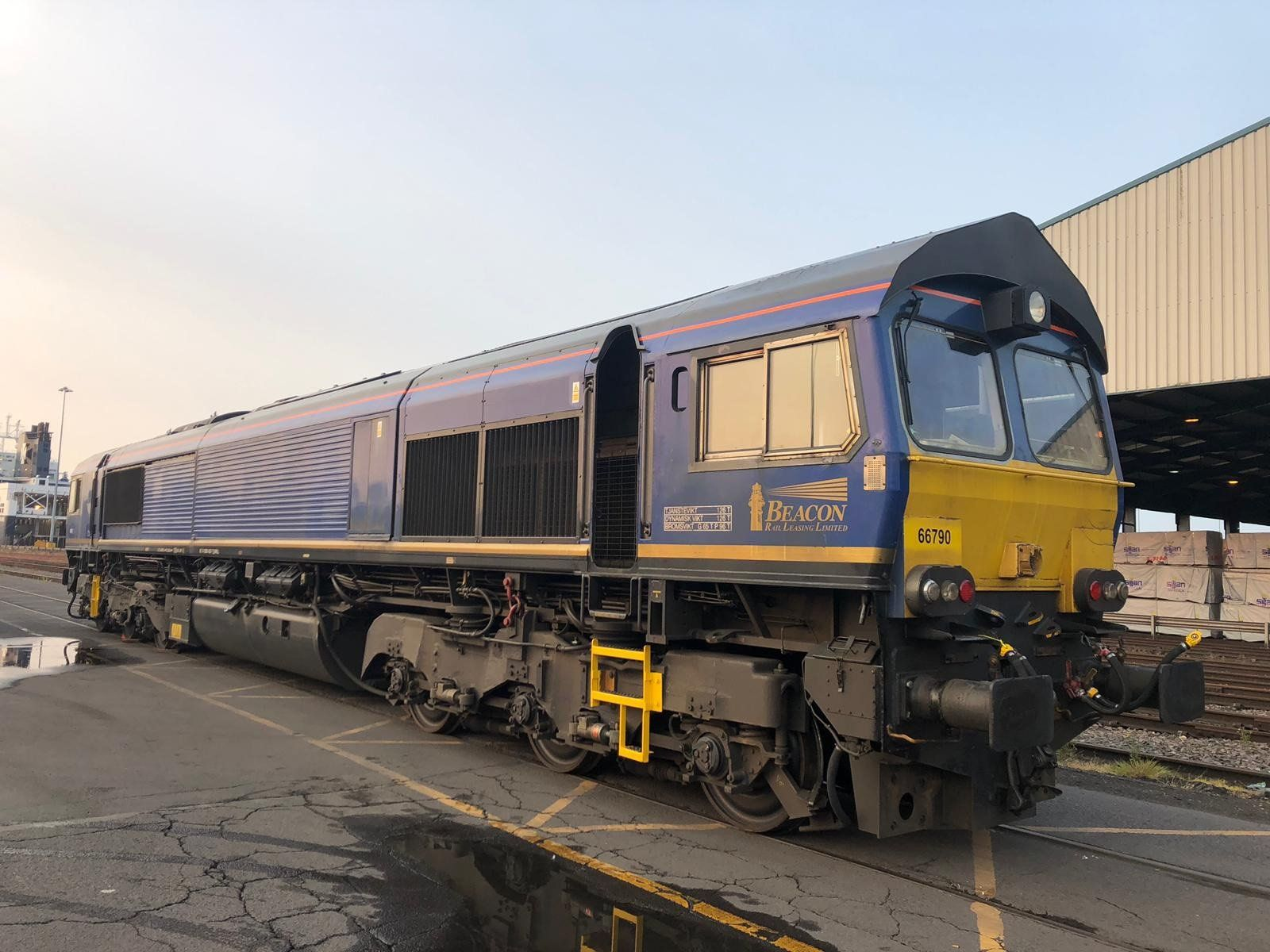 Image showing one of the Class 66 locomotives added to the GBRf fleet