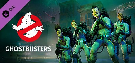 "Clickable image taking you to the Steam store page for the Ghostbustersâ""¢ DLC for Planet Coaster"