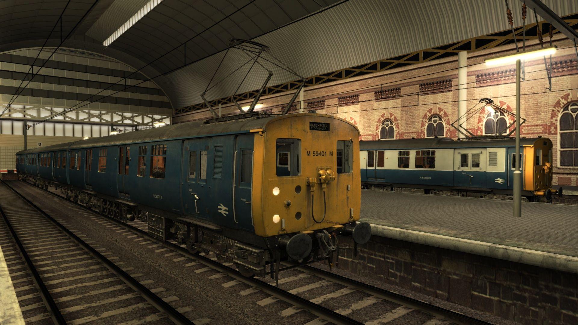 Train Simulator Woodhead Electric Railway in Blue