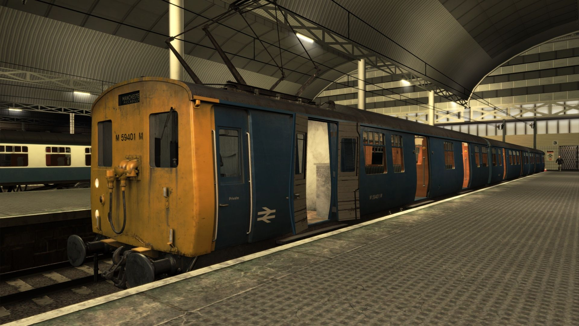 Image showing screenshot of a Woodhead Electric Railway in Blue scenario pack