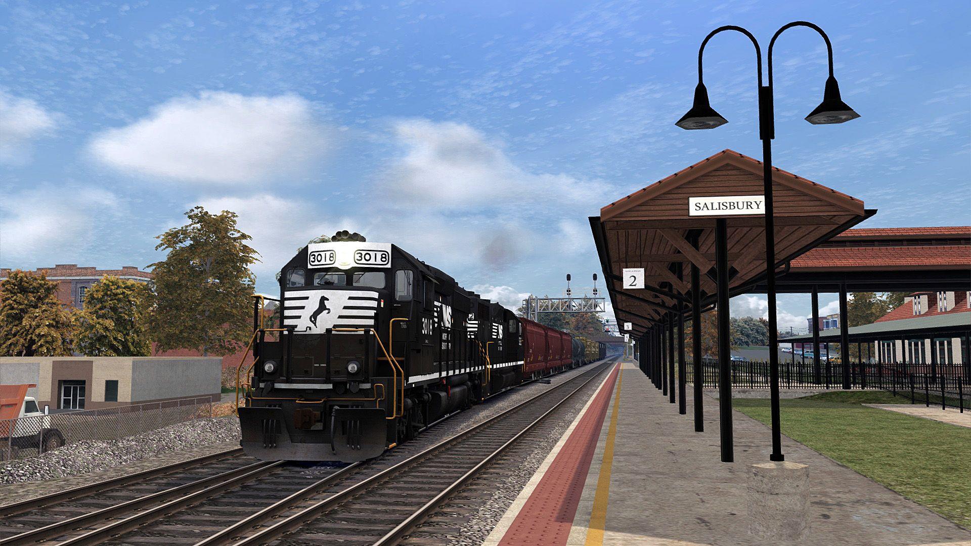 Train Simulator Norfolk Southern N-Line