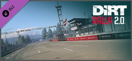 Clickable image taking you to the Steam store page for the Latvia Rallycross DLC for Dirt Rally 2.0