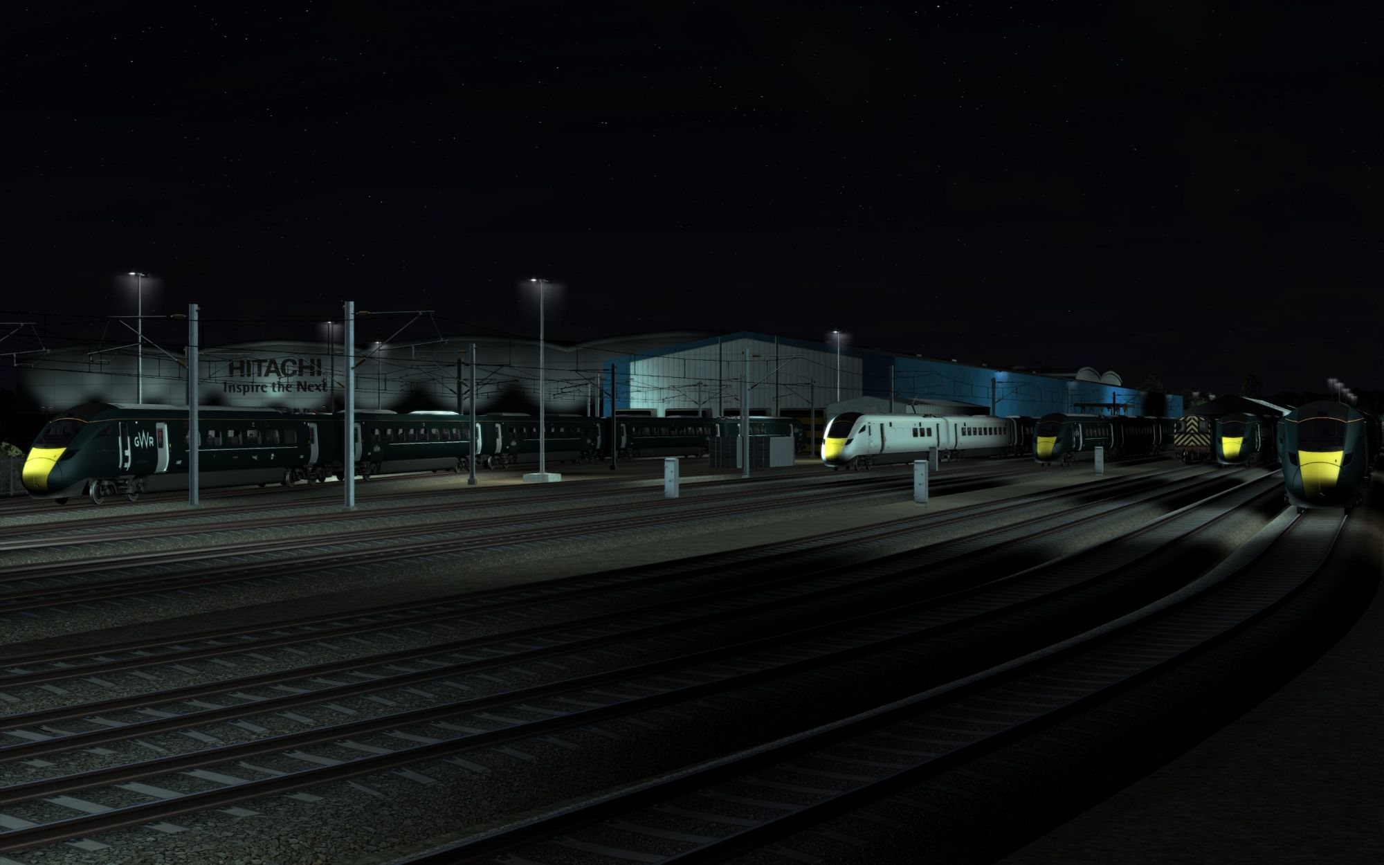 Image showing the Hitachi Merchant Park site in Train Simulator