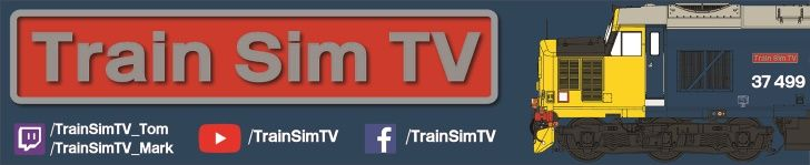 Clickable image taking you to the Train Sim TV page on Twitch