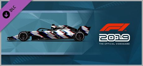 Clickable image taking you to the Steam store page for the Car Livery 'VENUS - Static Shock' DLC for F1 2019