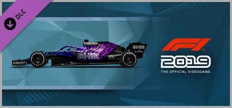 Clickable image taking you to the Steam store page for the Car Livery 'CNH2N+2ENERGY - Tiger' DLC for F1 2019