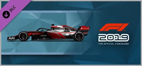 Clickable image taking you to the Steam store page for the Car Livery 'AVAX - Pinstripe' DLC for F1 2019