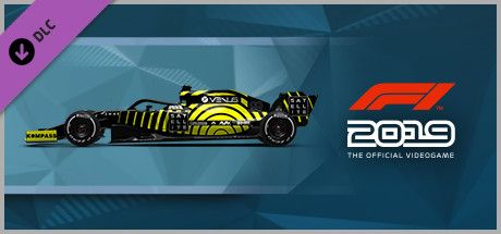 Clickable image taking you to the Steam store page for the Car Livery 'VENUS - Ping' DLC for F1 2019