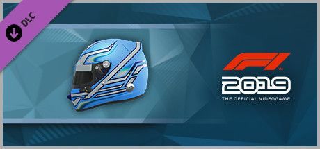 Clickable image taking you to the Steam store page for the Helmet 'Lightning' DLC for F1 2019
