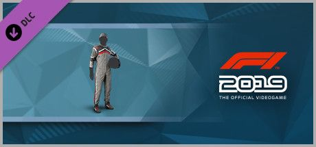 Clickable image taking you to the Steam store page for the Suit 'Apex' DLC for F1 2019