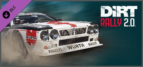 Clickable image taking you to the Steam store page for the Lancia 037 Evo 2 DLC for Dirt Rally 2.0