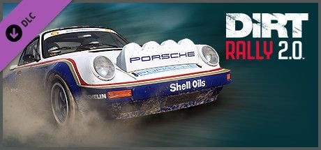 Clickable image taking you to the Steam store page for the Porsche 911 SC RS DLC for Dirt Rally 2.0