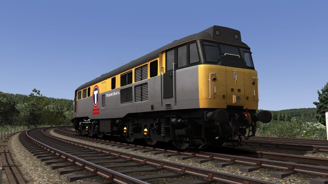 Image showing screenshot of the Class 31 locomotive in one of the liveries as available from the Vulcan Productions website.