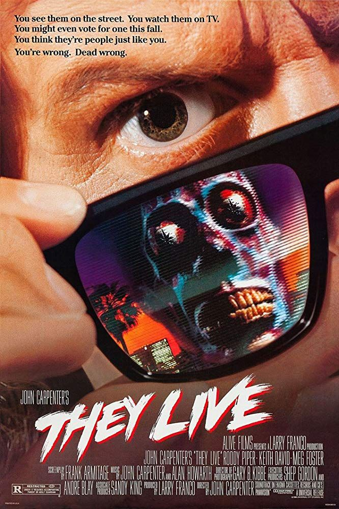 Image showing the movie poster for They Live