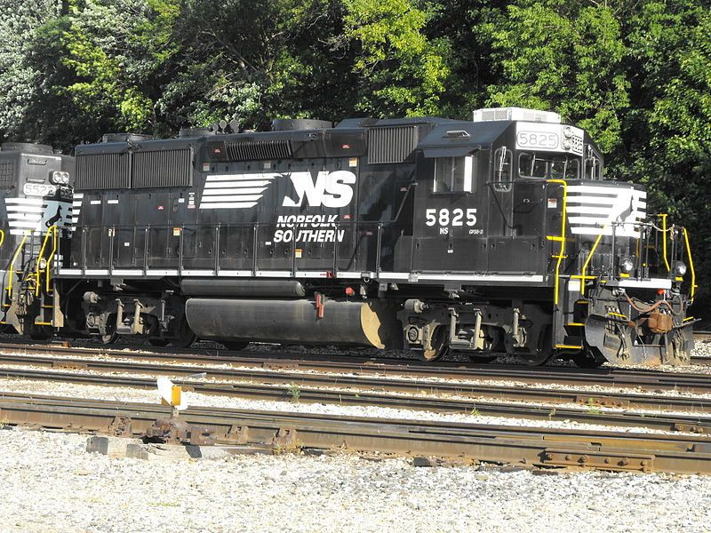 Image showing EMD GP38 locomotive