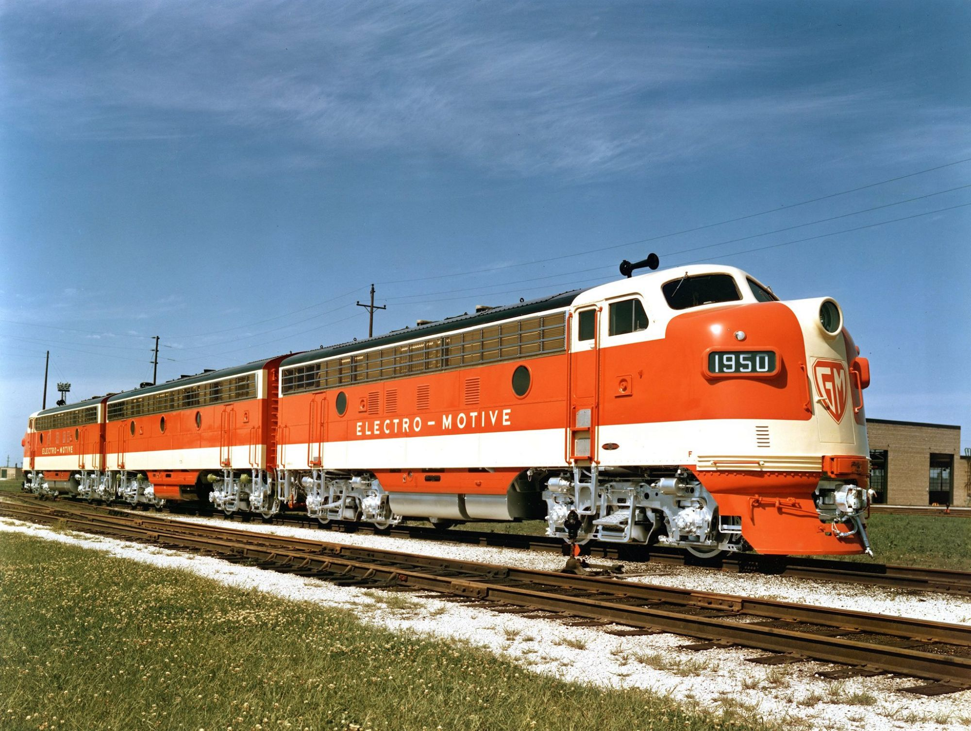 Image showing EMD F7 locomotive