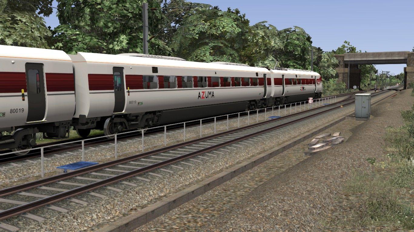 Image showing screenshot of the Class 800 LNER Azuma reskin