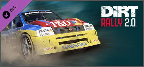 Clickable image taking you to the Steam store page for the MG Metro 6R4 Rallycross DLC for DiRT Rally 2.0
