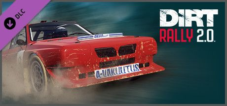 Clickable image taking you to the Steam store page for the Lancia Delta S4 RX DLC for DiRT Rally 2.0
