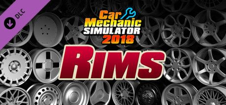 Clickable image taking you to the Steam store page for the Rims DLC for Car Mechanic Simulator 2018