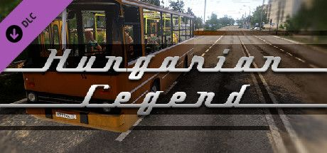 Clickable image taking you to the Steam store page for the Hungarian Legend DLC for Bus Driver Simulator 2019