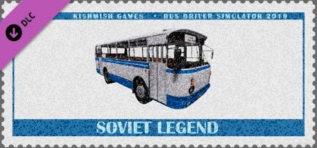 Clickable image taking you to the Steam store page for the Soviet Legend DLC for Bus Driver Simulator 2019