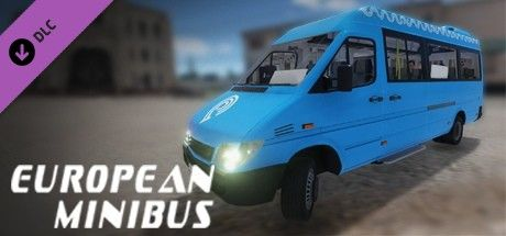 Clickable image taking you to the Steam store page for the European Minibus DLC for Bus Driver Simulator 2019