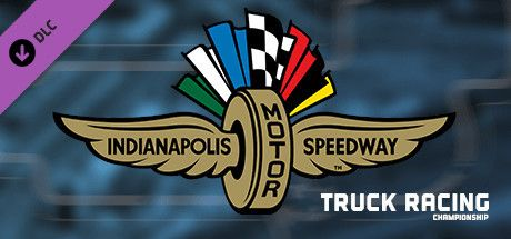 Clickable image taking you to the Green Man Gaming store page for the Indianapolis Motor Speedway DLC for FIA European Truck Racing Championship